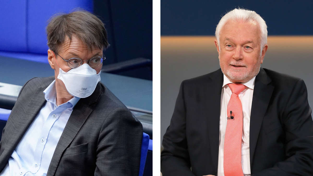 """""""Kurz vor dem Wahnsinn"""": Kubicki und Lauterbach geraten beim Thema Corona-Politik heftig aneinander"""