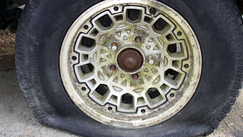 Anleitung reifen zerstechen ▷ Reifendruck