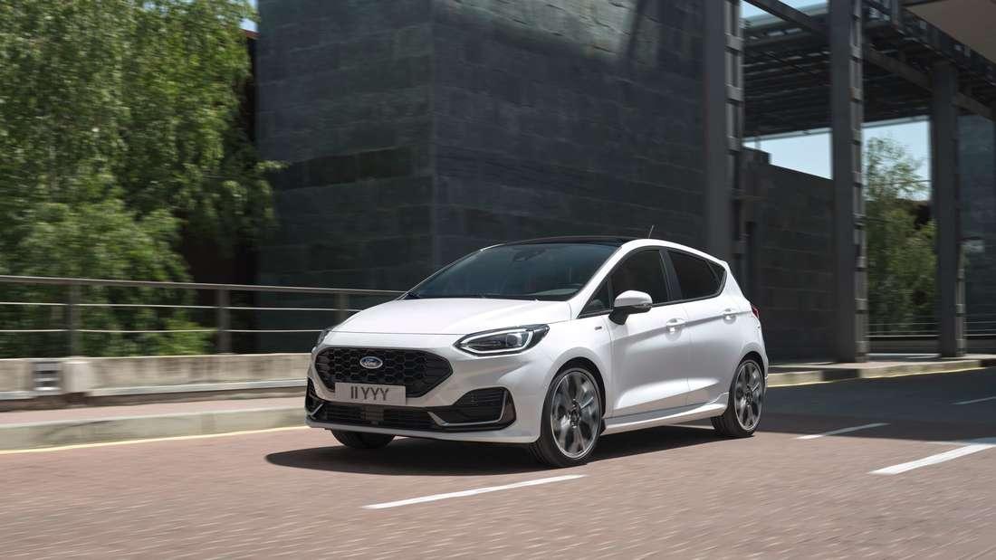 Facelift bei Ford: Fiesta mit neuem Look und mildem Hybrid