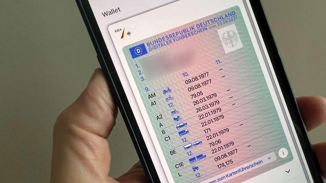 Digitaler Führerschein startet